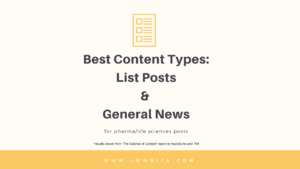 Most successful social content for Pharma and Life Sciences Industry